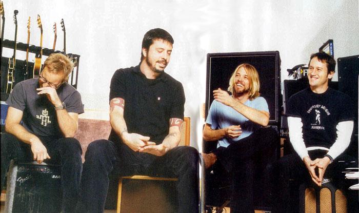 Foo Fighters Kerrang January 2005