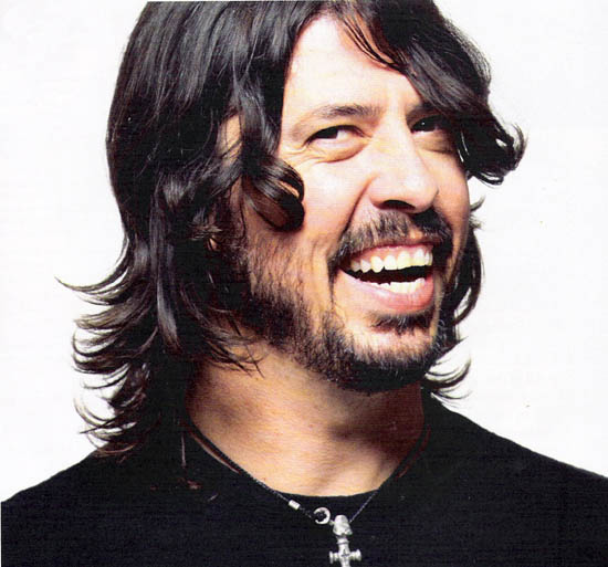 Dave Grohl is kind of a goofy, yet busy dude ...