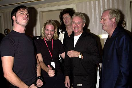 foo fighters and queen