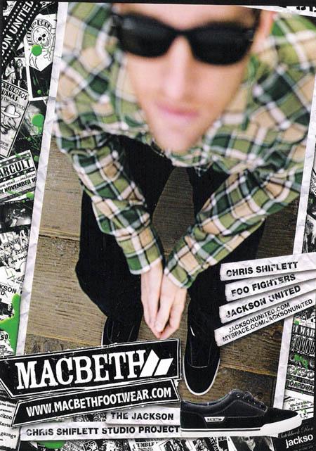 Chris's Macbeth ad
